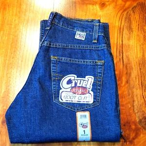 NWT Cruel Girl 1 Reg Bootcut Stretch Riding Jeans